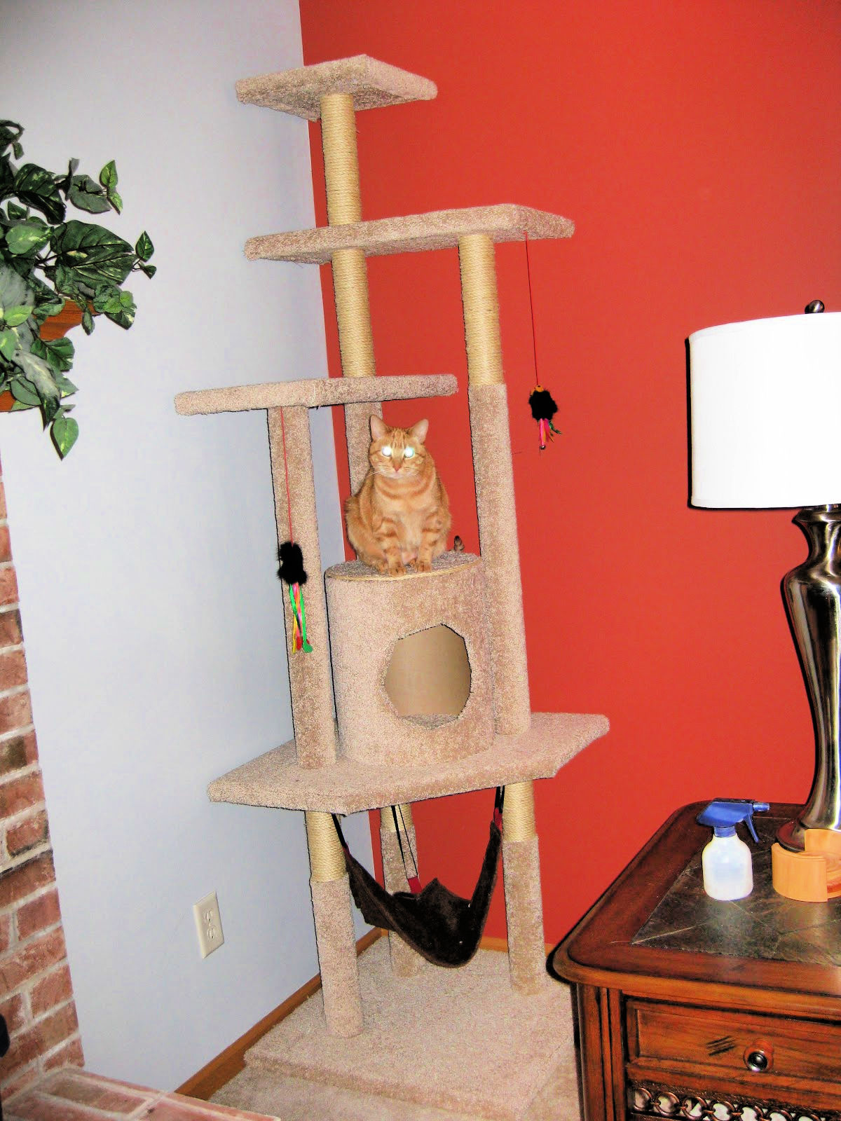 Diy Cat Tree With Step By Step Plan The Experimental Home