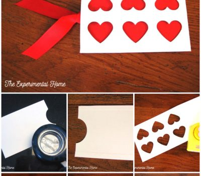 DIY Valentine Photo Card with Envelope