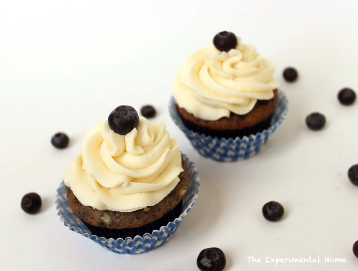 best Blueberry cupcakes